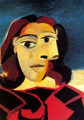 Madrid Museum Tours Madrid , historia para viajeros, Dora Maar y Conchita Montenegro. Ojos Tristes ; 1943