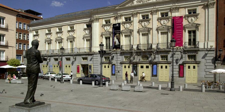 Barrio de Las Letras in Madrid