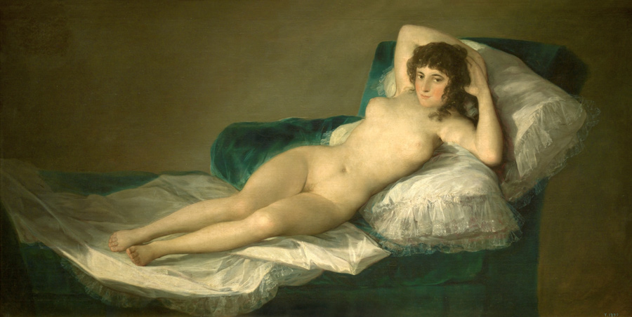 Maja naked by Goya