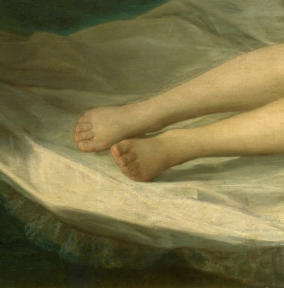 Madrid Museum Tours The Feet of Goya's Maja or his Obsession for their Feet