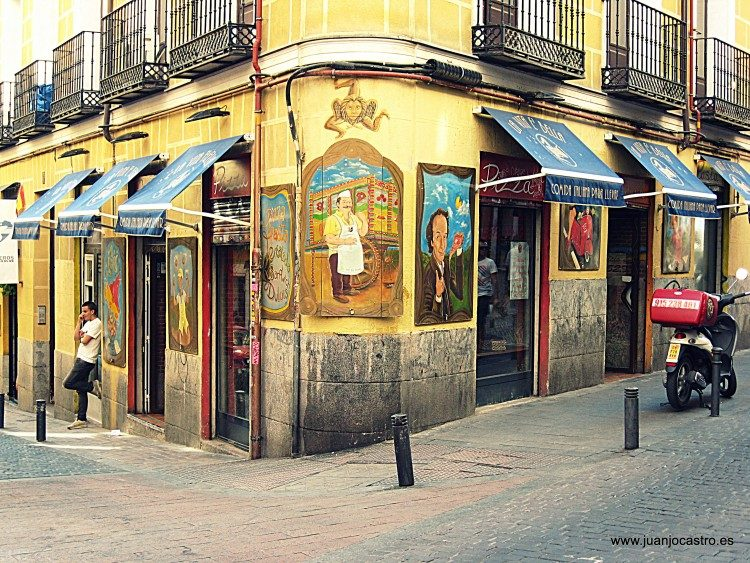 The bohemian Malasaña District in Madrid
