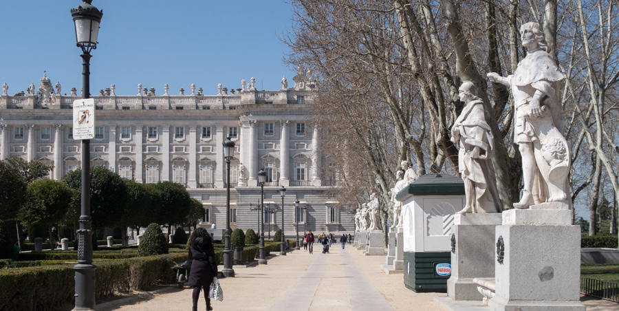 Madrid. Plaza de Oriente