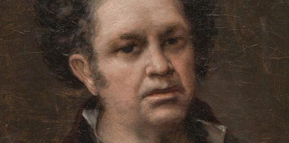 Goya Selfportrait