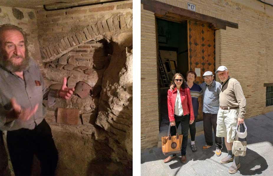 Madrid Museum Tours Blog- Pepe & Irina & clients in Toledo