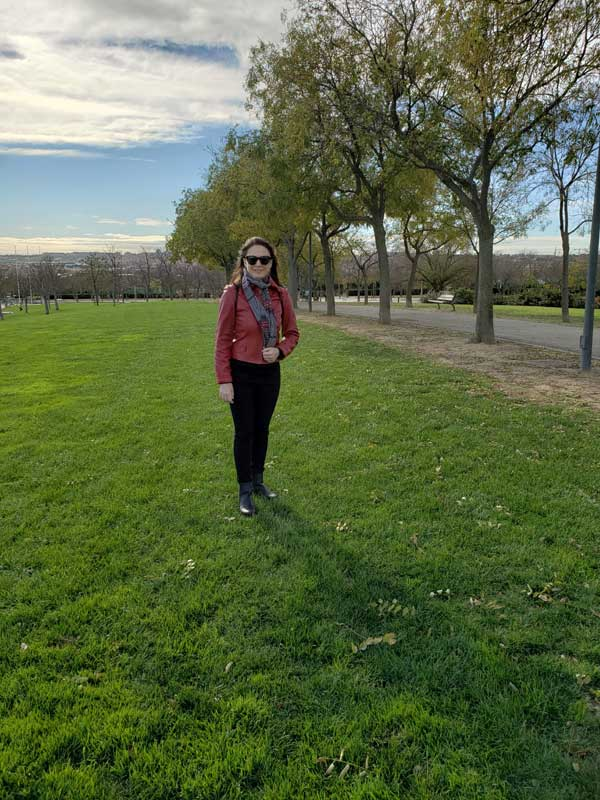 Juan Carlos I Park, Irina, the guide