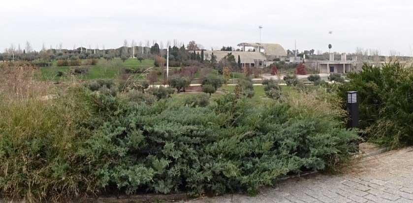 Parque Juan Carlos I, panoramica